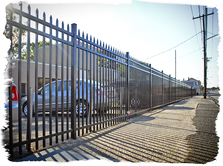 eastern ornamental fence installations by national fence and supply