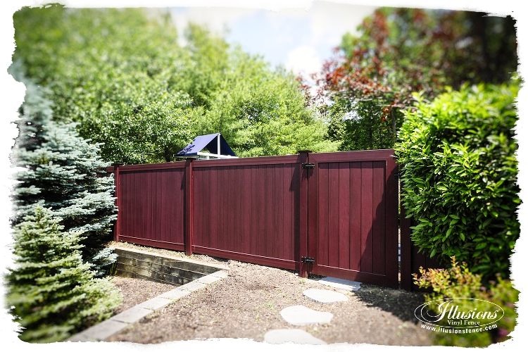 grand illusions vinyl woodbond installations by national fence and supply